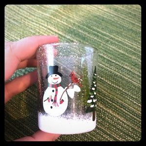 Other - Used Christmas votive holder, good condition